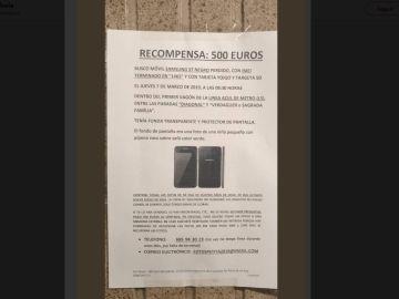 Una madre busca el móvil perdido que contenía las fotos de su hija de cuatro años