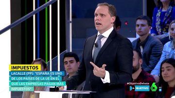 """Daniel Lacalle (PP): """"Se recauda más bajando impuestos a las familias y a las empresas"""""""