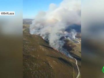 Incendios en León, Orense, Albacete y Canarias por falta de lluvias y quemas descontroladas