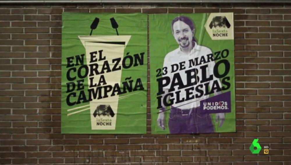Pablo Iglesias concede este sábado a laSexta Noche su primera entrevista tras la baja de paternidad