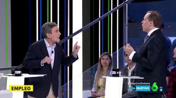"""Cruce de acusaciones entre Pedro Saura y Daniel Lacalle: """"La alternativa que está ofreciendo el PP es ultraliberal, es un sálvese quien pueda"""""""