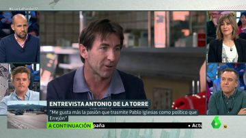 Antonio de la Torre en Liarla Pardo
