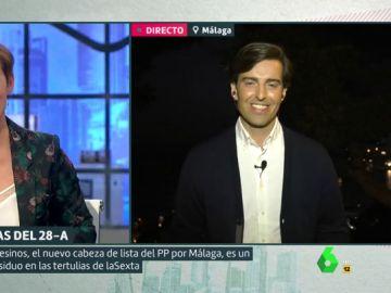 """Hay algo por lo que Cristina Pardo no """"perdonará"""" (o sí) a Pablo Montesinos que se haga político"""