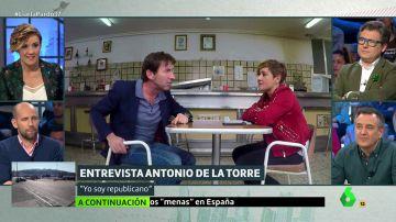 Cristina Pardo entrevista a Antonio de la Torre