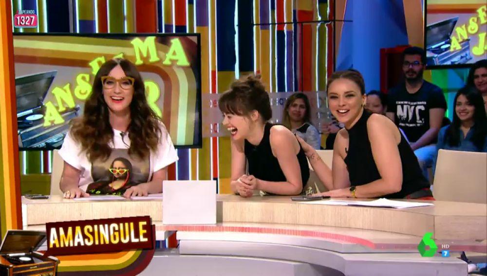 Chenoa, Ana Morgade y la actriz Guiomar Puerta