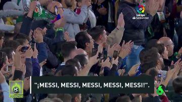 El Benito Villamarín se rinde a Messi