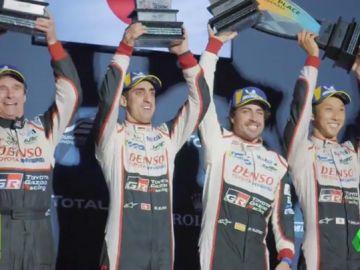 Fernando Alonso se acerca a la victoria en el WEC tras ganar con claridad las 1.000 Millas de Sebring
