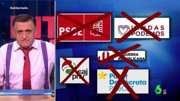"""Wyoming, crítico con Albert Rivera: """"Para querer ser el 'presidente del diálogo' ya ha vetado al PSOE, a Podemos y a los independentistas"""""""