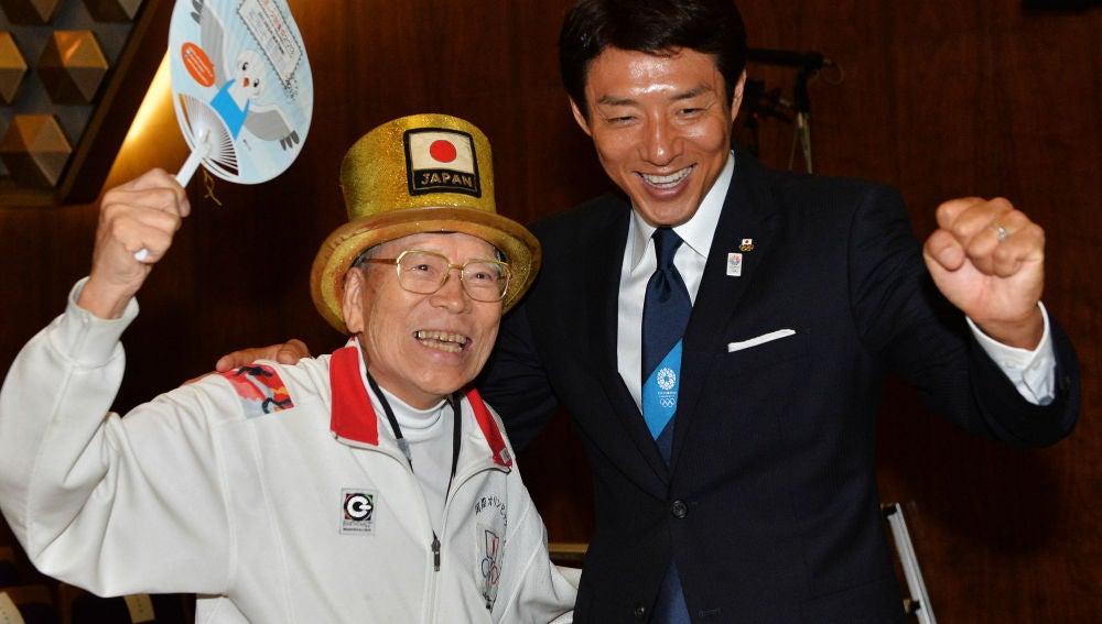 Naotoshi Yamada, en un acto en Japón
