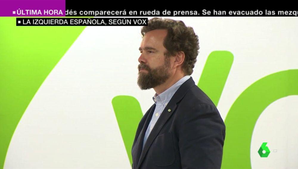 El vicesecretario de relaciones internacionales de Vox, Iván Espinosa de los Monteros