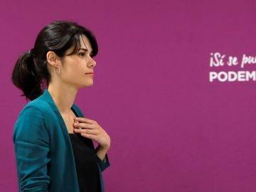 La candidata de Podemos a la Comunidad de Madrid, Isabel Serra