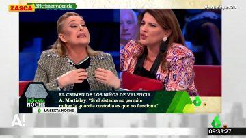 """El enfrentamiento entre Elisa Beni y María Claver a cuento del crimen de Godella: """"Decir que eso es clasista, es de ser imbécil"""""""