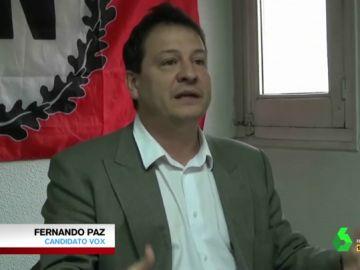 """Las palabras homófobas y machistas de Fernando Paz (Vox): """"Muchas mujeres son lesbianas porque desprecian a los hombres"""""""