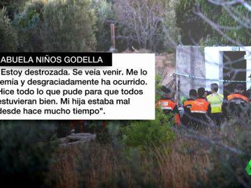 """La abuela de los niños asesinados en Godella: """"Estoy destrozada, se veía venir. Hice todo lo que pude para que todos estuvieran bien"""""""