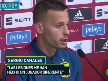 """Canales: """"Hubo un momento en que sentí que venir a la Selección ya no era un objetivo"""""""