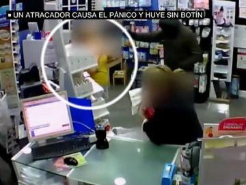 Atraco frustrado a una farmacia de Sevilla