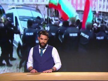 """La solución de Dani Mateo para evitar que el gas pimienta se vuelva en contra de la policía: """"No dispersa a los manifestantes pero les deja un buen cardado"""""""