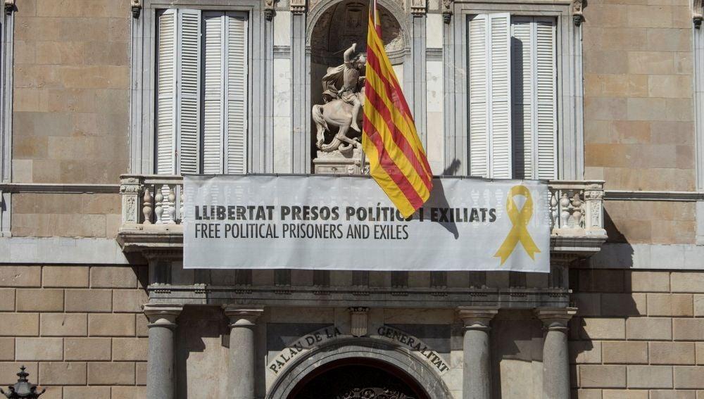 """laSexta Noticias 20:00 (19-03-19) Torra mantendrá los lazos amarillos en la Generalitat: """"No está de acuerdo con la Junta Electoral"""""""
