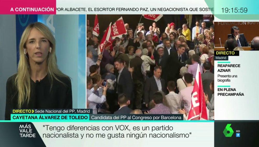 ENTREVISTA A CAYETANA ALVAREZ DE TOLEDO