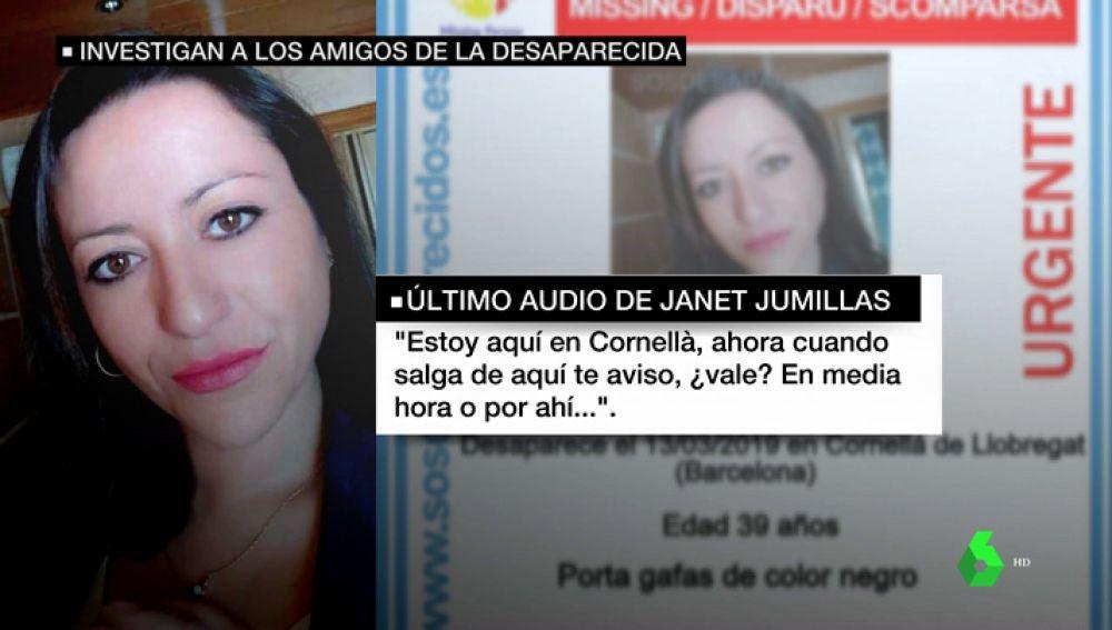 """La familia de Janet Jumillas descarta una desaparición por voluntad propia: """"Llegas a pensar que no aparecerá nunca"""""""