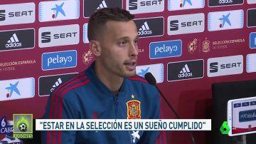 Canales llega a la Selección tras un infierno de lesiones