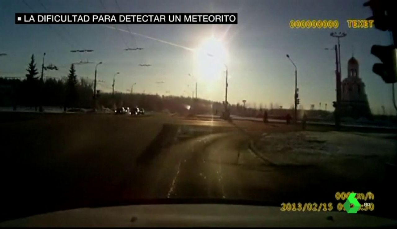 La dificultad (y poca probabilidad) de detectar un meteorito