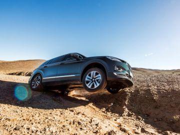 El Seat Tarraco, a prueba en las dunas de Marruecos