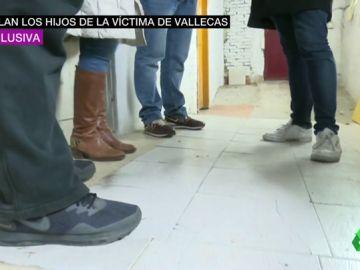 """El testimonio de los hijos del hombre apuñalado en Vallecas: """"Mi padre me ha dado dos veces la vida"""""""