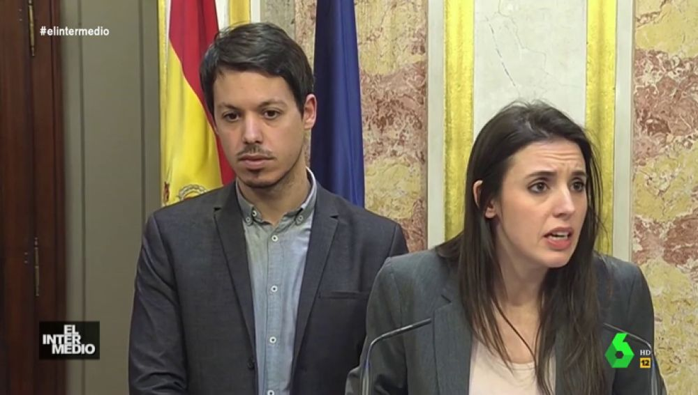 #VídeosManipulados: Descubrimos qué le pasa por la cabeza a Segundo González mientras habla Irene Montero