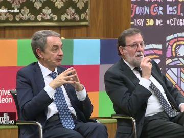 #VídeosManipulados: Zapatero y Rajoy ejercen de asesores del amor en su última conferencia