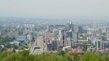 Almaty, capital de Kazajistán