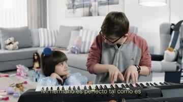 El síndrome de Down visto con los ojos de una niña de cuatro años
