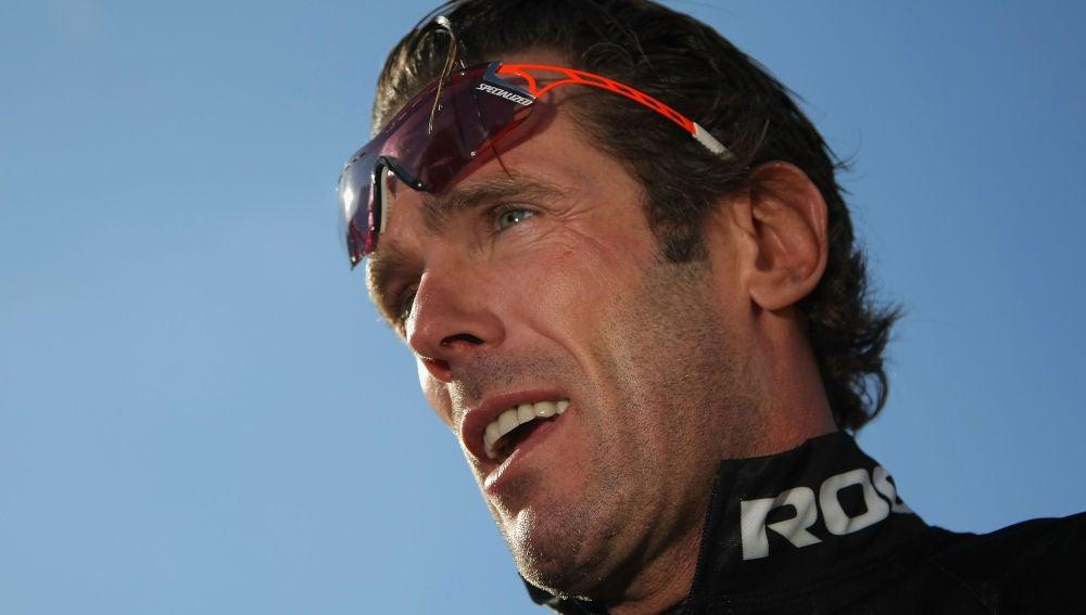 El exciclista Mario Cipollini
