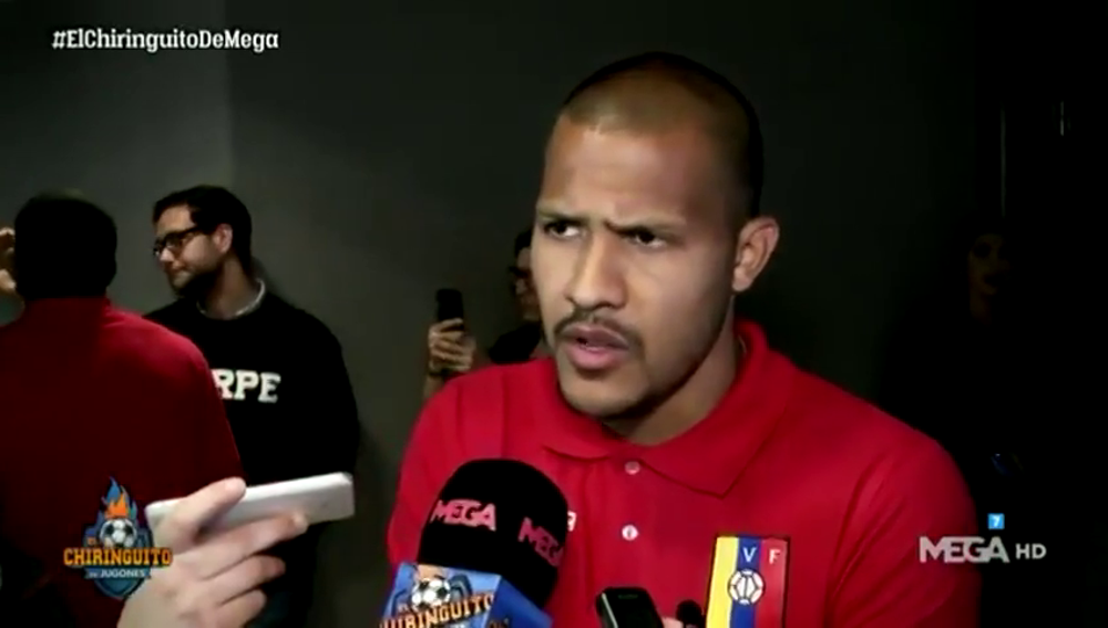 """Los mensajes de los jugadores de Venezuela al pueblo venezolano: """"Fuerza y esperanza. A todos nos duele la crisis que estamos viviendo"""""""