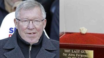 Subastan el último chicle de Alex Ferguson