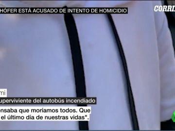 La llamada de Rami que alertó del secuestro a su autobús escolar