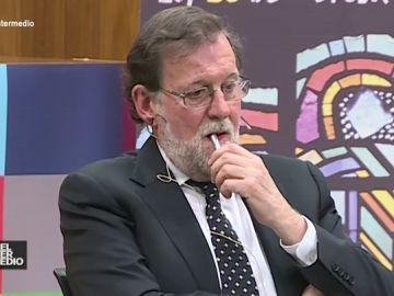 #VídeosManipulados: El grito que sorprende a Mariano Rajoy en un coloquio en la Universidad de León