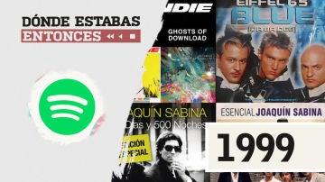 Lista reproducible: Joaquín Sabina, Blondie o Estopa, entre los éxitos de Dónde estabas entonces 1999