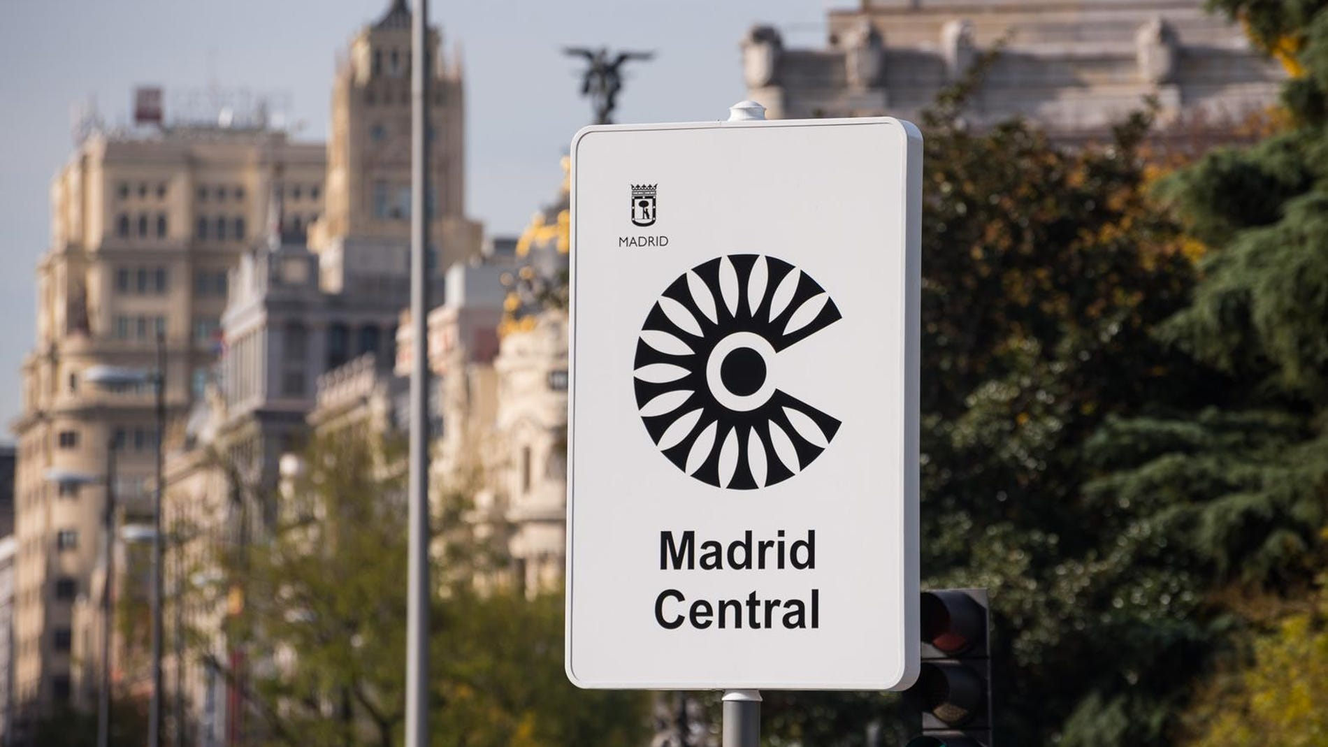Señal de Madrid Central