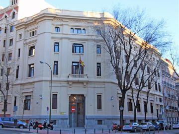 Edificio del CIS en Madrid.