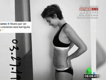 """Laura Escanes posa por primera vez tras anunciar su embarazo: """"Muero por ver cómo va creciendo esta barriguita"""""""