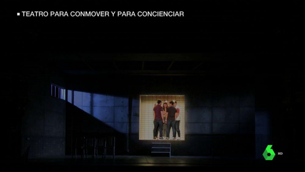 La reacción de los jóvenes al ver 'Jauría', la obra sobre el juicio de 'La Manada'
