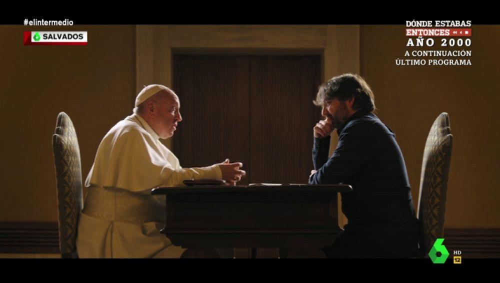 """Jordi Évole, sobre su entrevista con el papa en Salvados: """"Me van a silbar los oídos por lo que dirán medios pertenecientes a la Iglesia"""""""