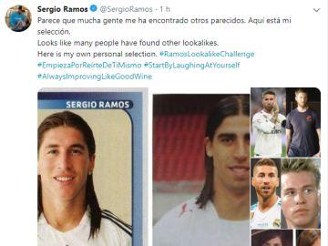 Tuit de Ramos sobre sus 'parecidos razonables'