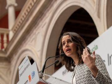 La portavoz de la Ejecutiva nacional de Ciudadanos, Inés Arrimadas