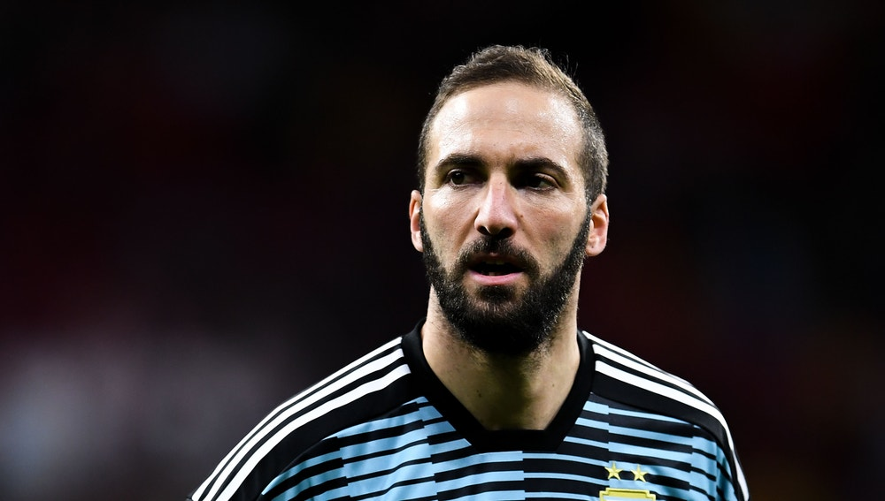 Gonzalo Higuaín se retira de la selección argentina