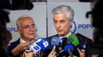 El número dos de la lista del PP por Madrid al Congreso, Adolfo Suárez Illana