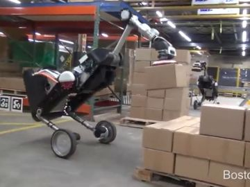 El robot 'Handle' ya puede transportar cajas y almacenarlas sin nadie que lo supervise