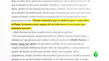 De guardias civiles, cebollas, preservativos y VIH: las otras polémicas de Suárez Illana