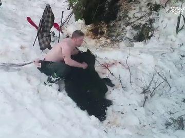 Dos cazadores matan a tiros a una osa y a sus crías mientras estaban hibernando en Alaska